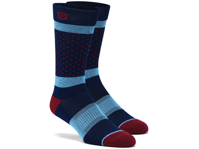 100% Opposition Socks navy